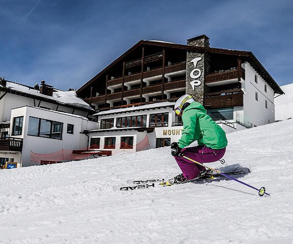 Ski resort Obergurgl Hochgurgl Ötztal Tyrol Austria Ski-in & Ski-out