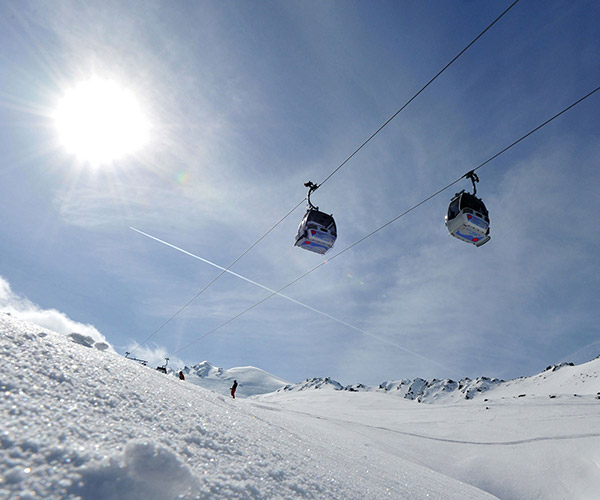 Ski resort Obergurgl Hochgurgl Ötztal Tyrol Austria TOP