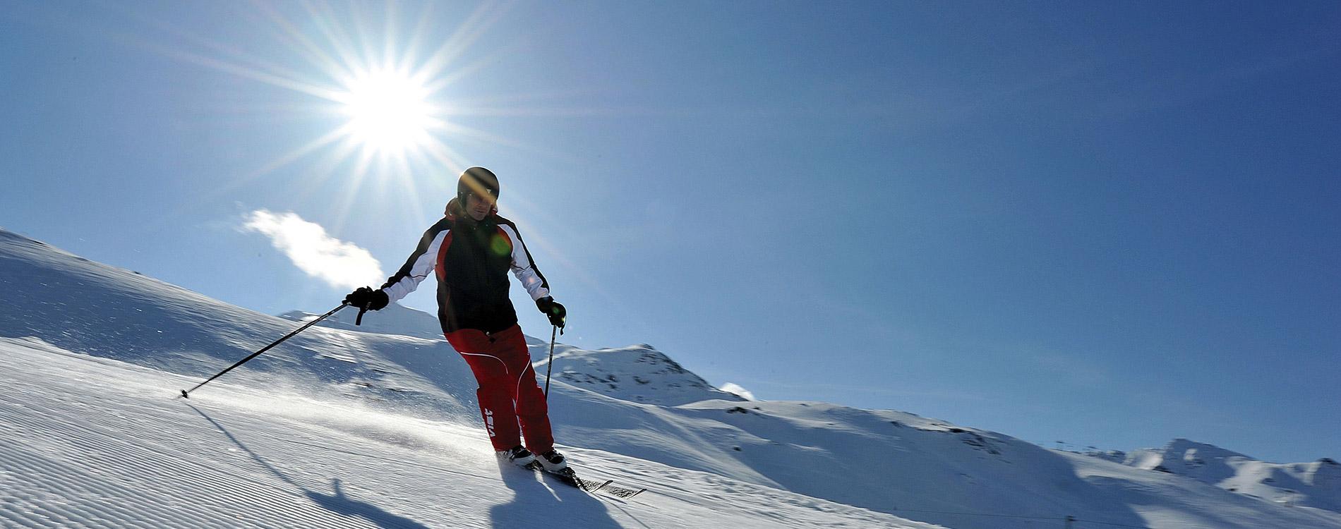 Ski resort Obergurgl Hochgurgl Ötztal Tyrol Austria