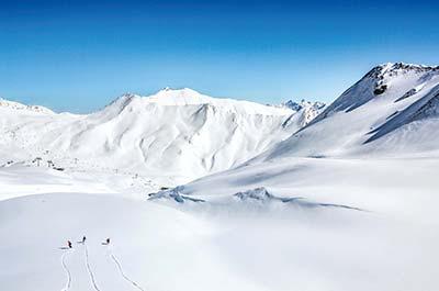 short ski break at the Schlosshotel Fiss in Austria - featured