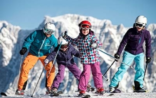 Family ski holiday in Ehrwald at the 4-star Tirolerhof Zugspitzarena Tirol Austria Family