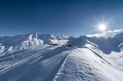 Skiing holiday in Austria at TOP ski lifts Hochgurgl Ötztal Tyrol Austria Hohe Mut