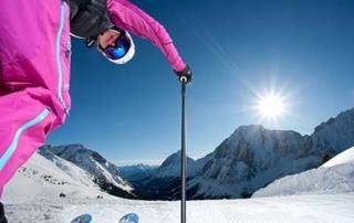 Skiing in January in Tirol Austria Hotel Tirolerhof 4 Star Ehrwald Zugspitzarena Skiing