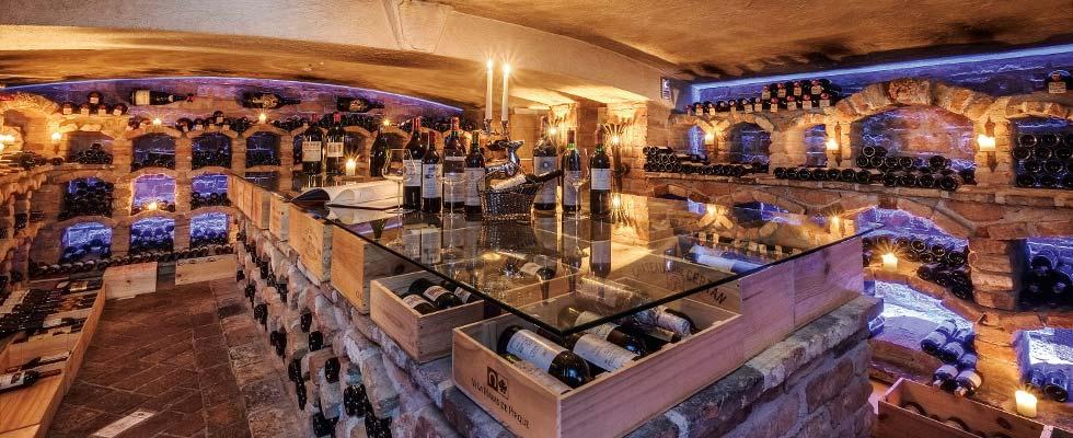 Wine Tasting SPA-Hotel Jagdhof Wine Celler Wine Days