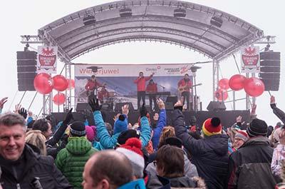 apres-ski Family Hotel Tirolerhof Ehrwald Zugspitzarena Schlager Open Air 2018