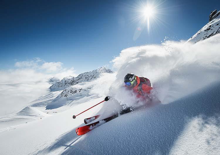 Winter holiday SPA-HOTEL Jagdhof Neustift Tyrol Stubai Glacier (c) Andre Schoenherr