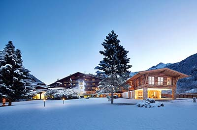 Winter holiday SPA-HOTEL Jagdhof Neustift Tyrol Winter at Jagdhof