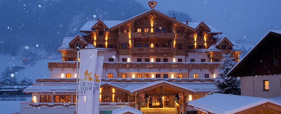 Winter sports destinations Austria South Tyrol GROSSARLER HOF Grossarl Salzburg SmallLuxuryHotels SalzburgerLand