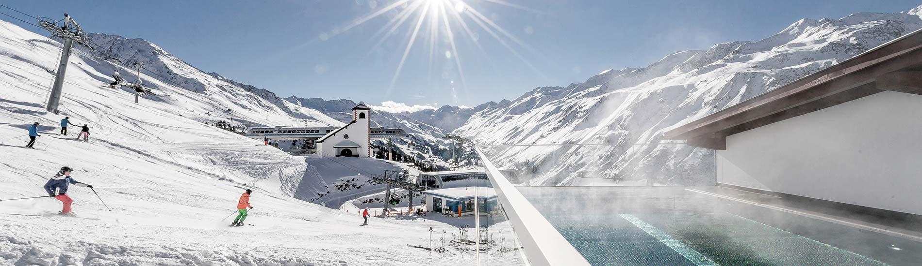 5-star superior luxury ski hotel TOP Hotel Hochgurgl in Obergurgl-Hochgurgl in the Ötztal Valley Austria