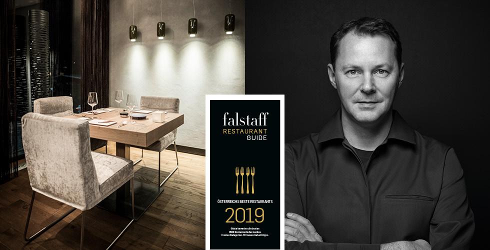 Restaurant Gourmet Guide Falstaff 2019 Restaurant Simon Taxacher Hotel und Restaurant Rosengarten Kirchberg Tirol Austria (3)