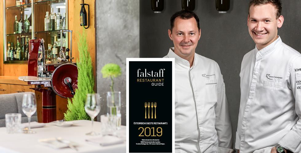 Restaurant Gourmet Guide Falstaff 2019 Restaurant Simon Taxacher Hotel und Restaurant Rosengarten Kirchberg Tirol Austria (5)