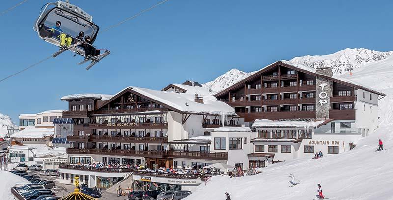 Fly-in, ski-in & spa-out in Austria's ski fun summit!