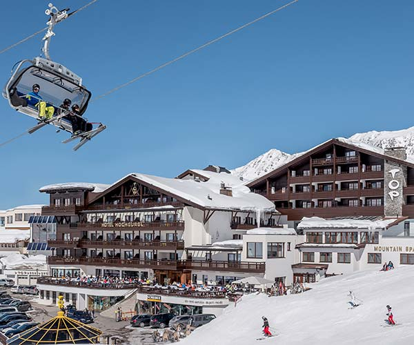 Skiing in April at 5-star superior TOP Hotel Hochgurgl Austria
