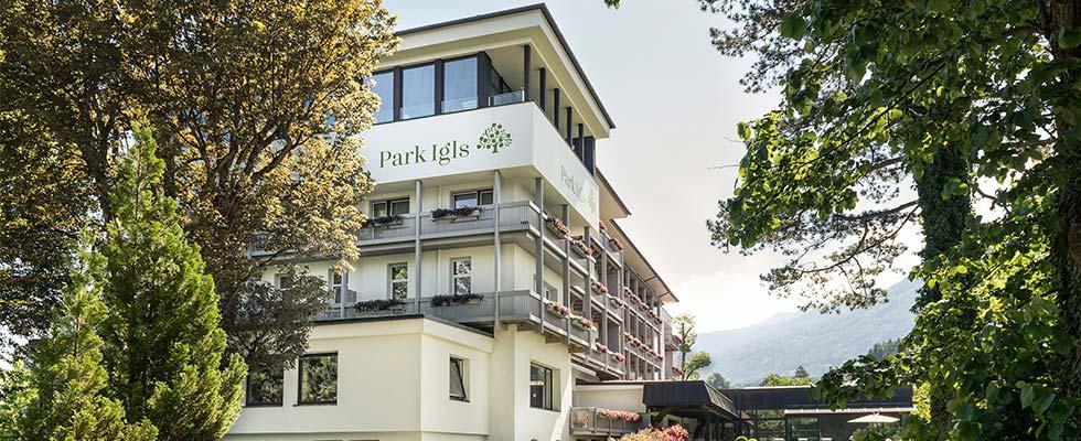 Stoffwechsel Park Igls Gesundheitszentrum Tirol Moderne-Mayr-Medizin Aussenansicht