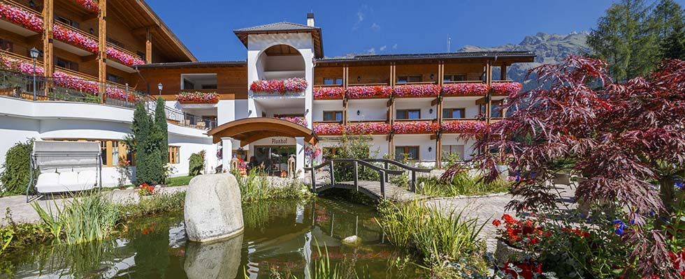 Innovative wellness concept at spa hotel Plunhof in South Tyrol (Italy)