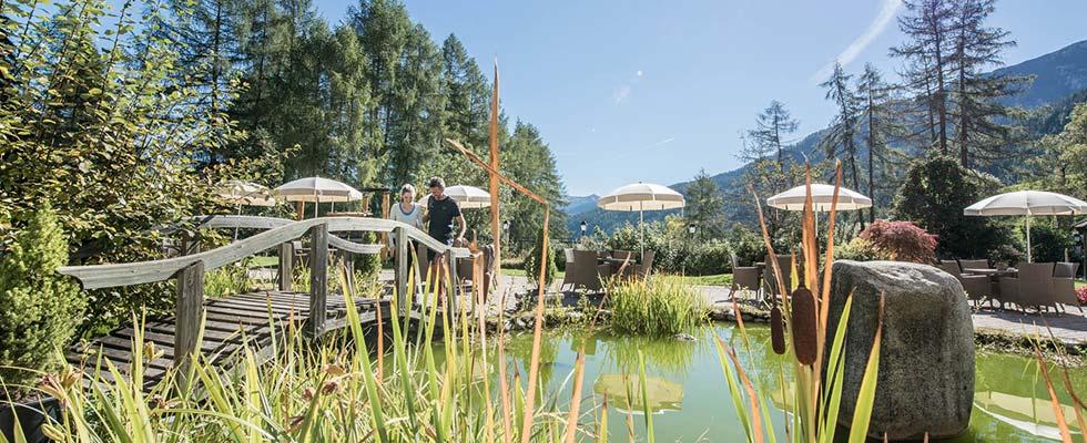 Destination Spa im Zeichen des Bergbaus Wellnesshotel Südtirol