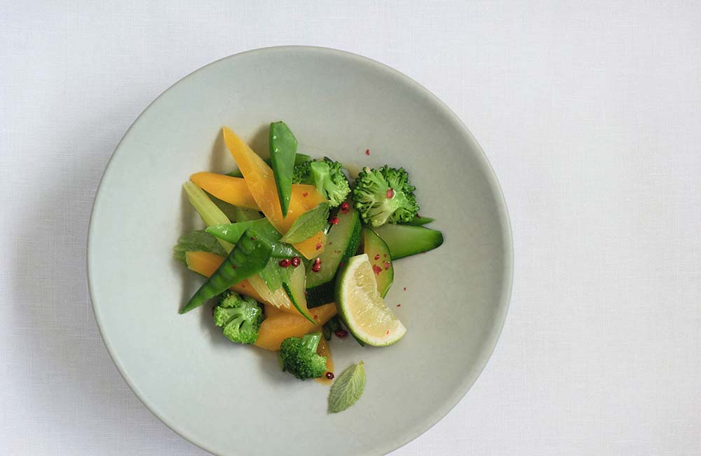Healthy summer recipe from Park Igls – green vegetable stir fry
