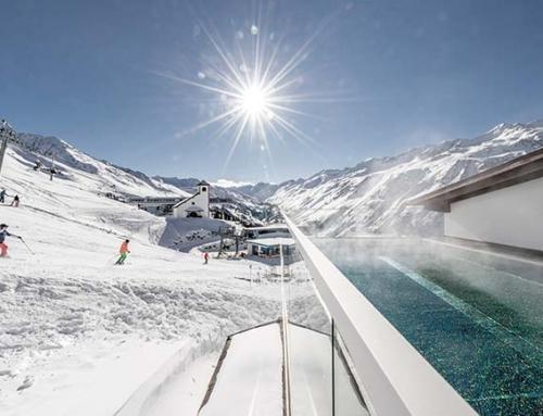 Ski and spa holiday