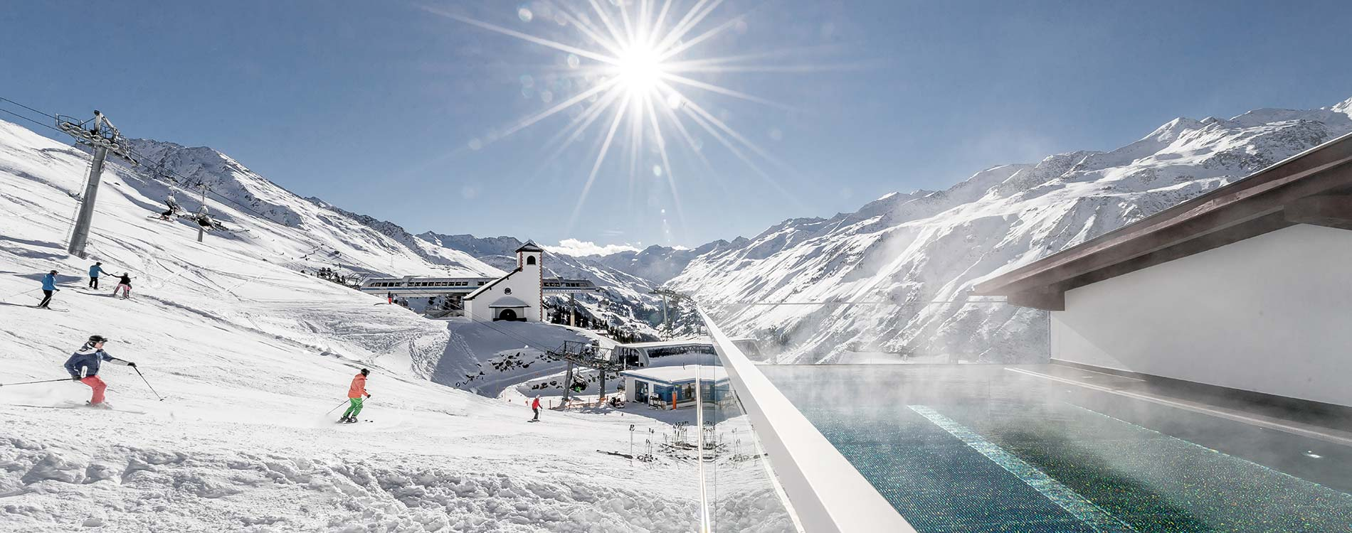 5-star superior ski and spa holiday in Obergurgl-Hochgurgl Austria