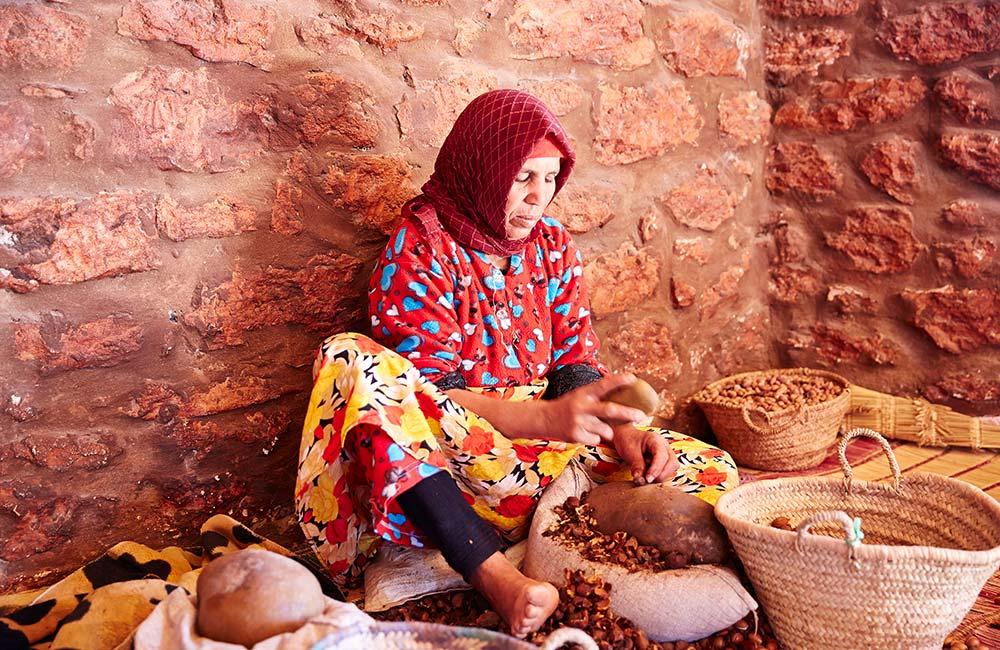 Morocco Essaouira argan oil cooperative