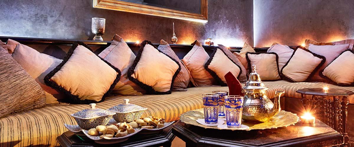 Morocco Relaxation tea ceremony
