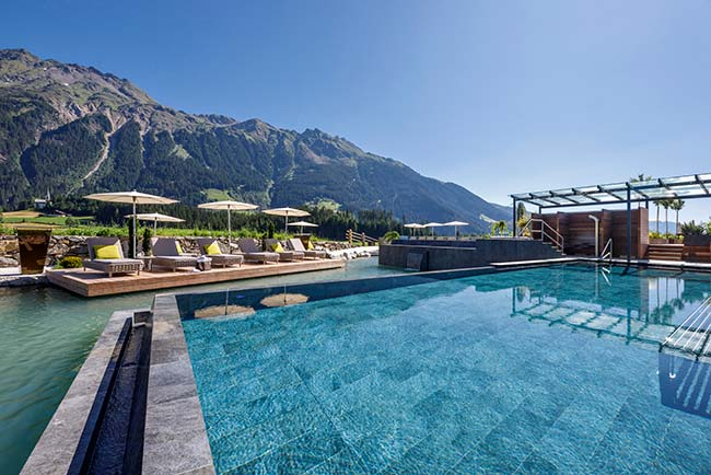 4 star superior spa hotel Italy Plunhof Ridnaun Sterzing South Tyrol