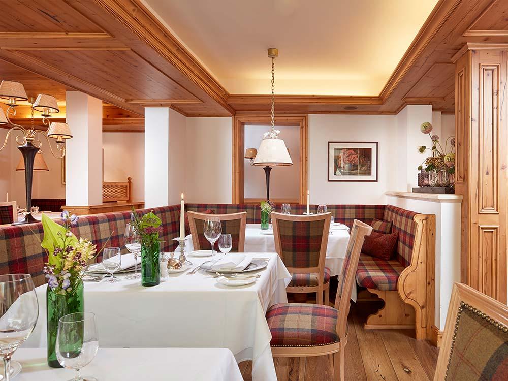 5 star hotel Schlosshotel Fiss resraurant