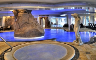 5 star superior spa hotel Dollenberg Black forest indoor pool
