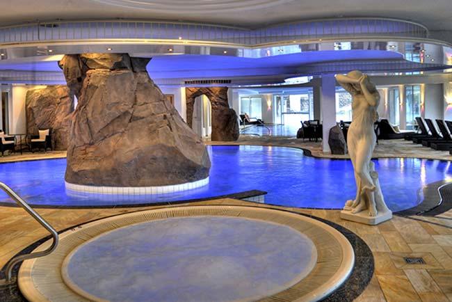 5 star superior spa hotel Dollenberg Black forest indoor pool