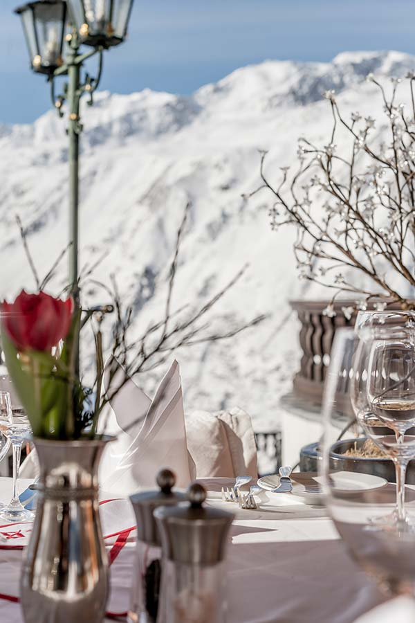 Best for ski-in and ski-out TOP Hotel Hochgurgl