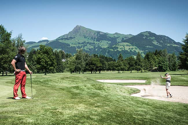 Gourmet golf holiday at Hotel Restaurant Spa Rosengarten in Kirchberg Tyrol