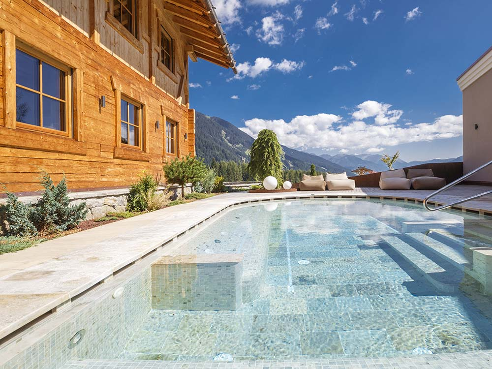 Hotel Plunhof 4 Star superior Ridnaun Ratschings South Tyrol Spa Minera