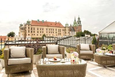 Relais Chateaux Hotel Copernicus Krakow Poland Roof Top Terrace