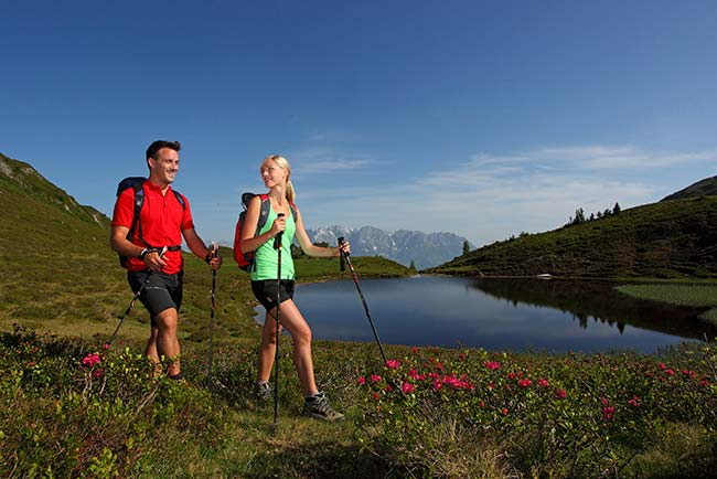 Romantic walking holiday at GROSSARLER HOF in SalzburgerLand