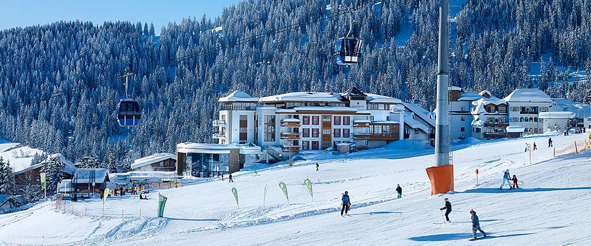 Schlosshotel Fiss Ski in ski out Serfaus Fiss Ladis