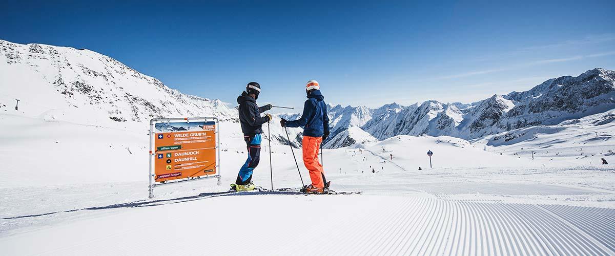 Stubai Glacier Tyrol Austria