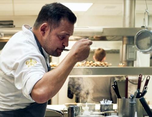 Michelin-starred kitchen