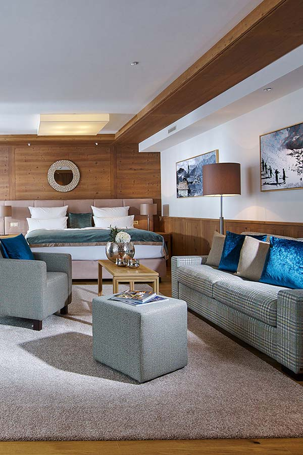 5 star Schlosshotel Fiss family suite Eiskristall