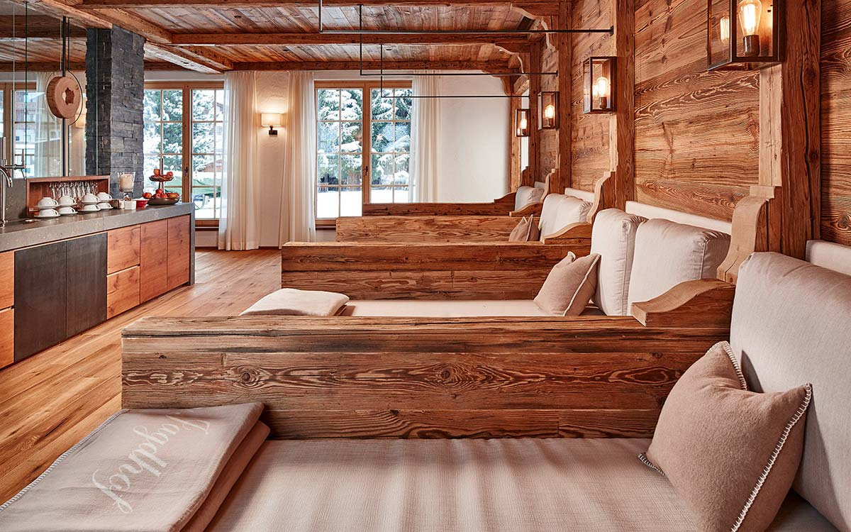 5 star Spa Hotel Jagdhof Tyrol Austria spa with a view