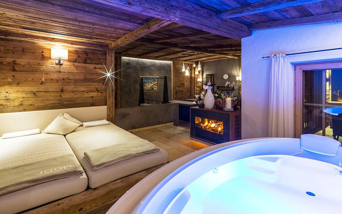 5 star Spa Hotel Jagdhof Tyrol Private Spa Suite
