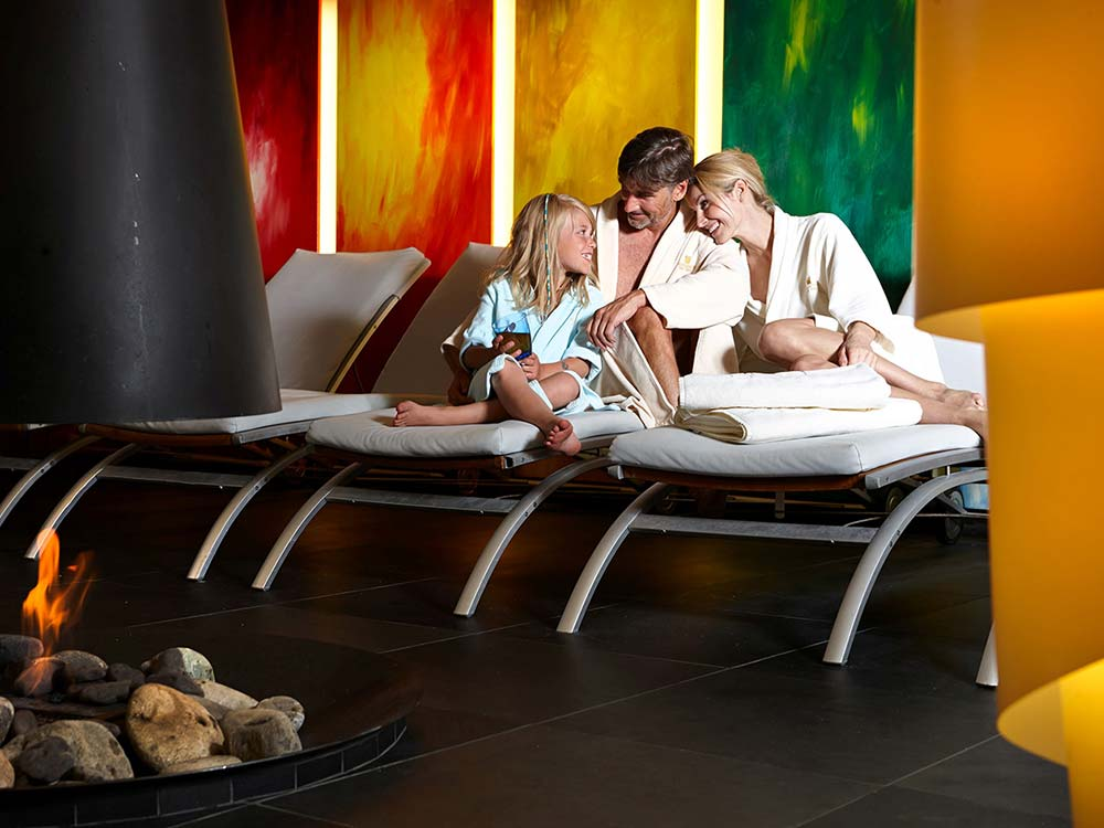 5 star family hotel Schlosshotel Fiss family Spa