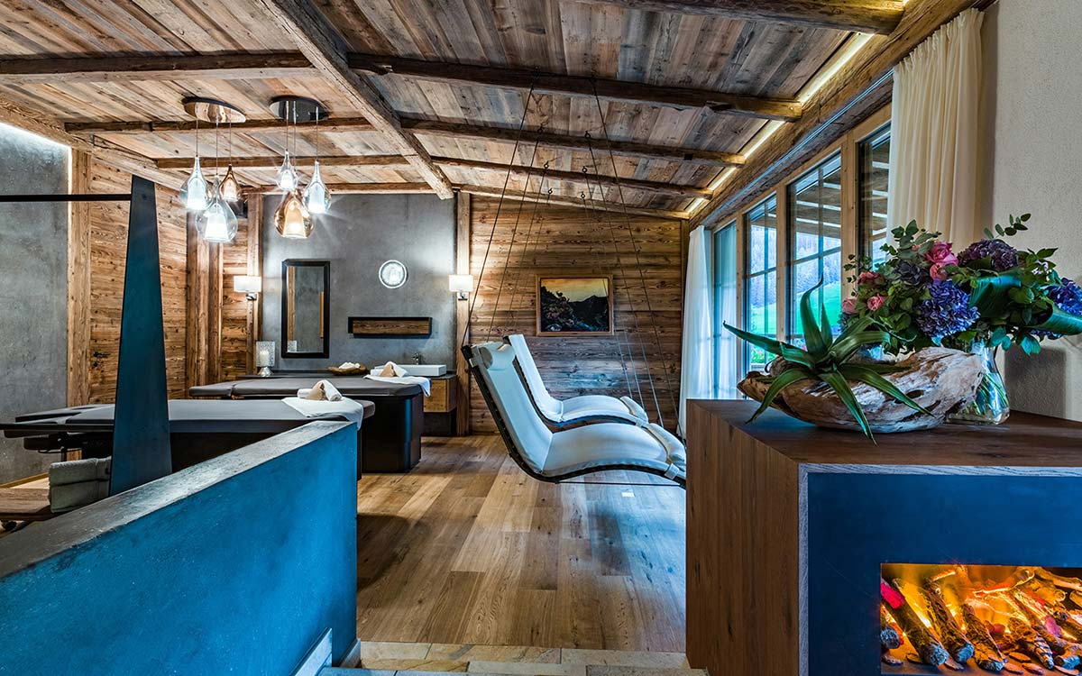 5 star spa hotel Jagdhof Tyrol Austria Private Spa Suite