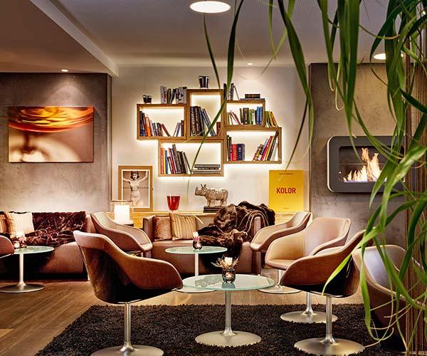 Cosy lounge Hotel Rosengarten Kirchberg Tyrol