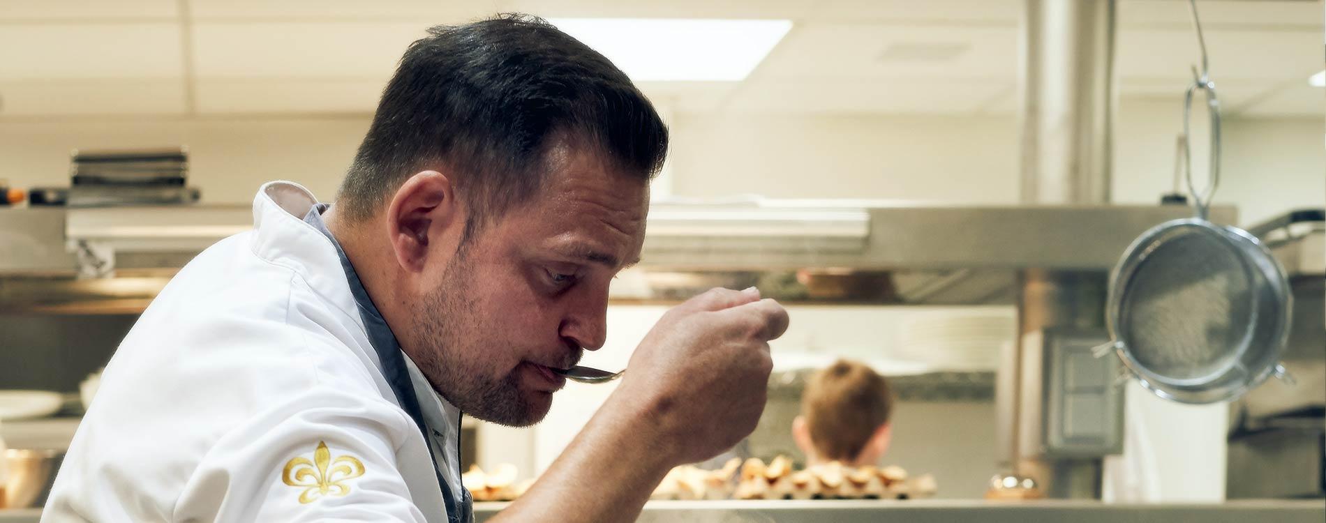 Michelin Star Chef Ralf Berendsen Lanaken