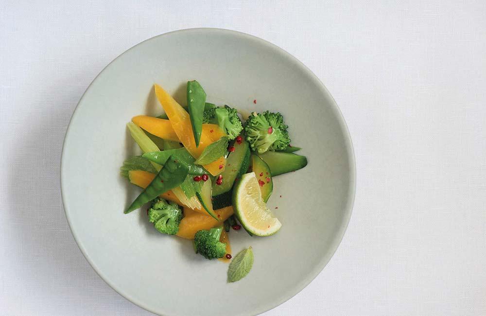 Modern Mayr healthy cuisine
