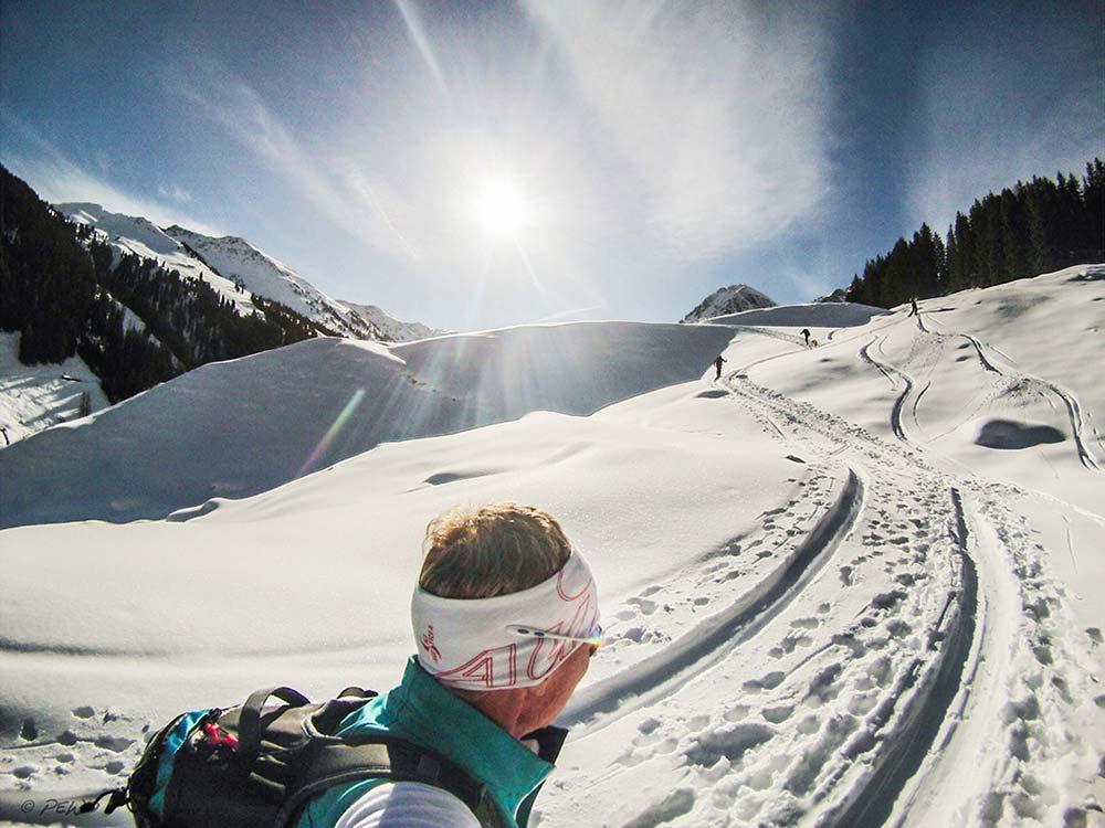 Off piste action Alpbachtal Seenland