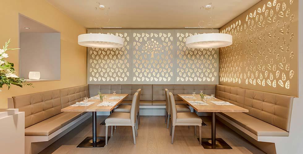 Park Igls Mayr clinic restaurant