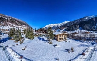 Relais Chateaux Spa Hotel Jagdhof Neustift Tyro Austria panoramic exterior