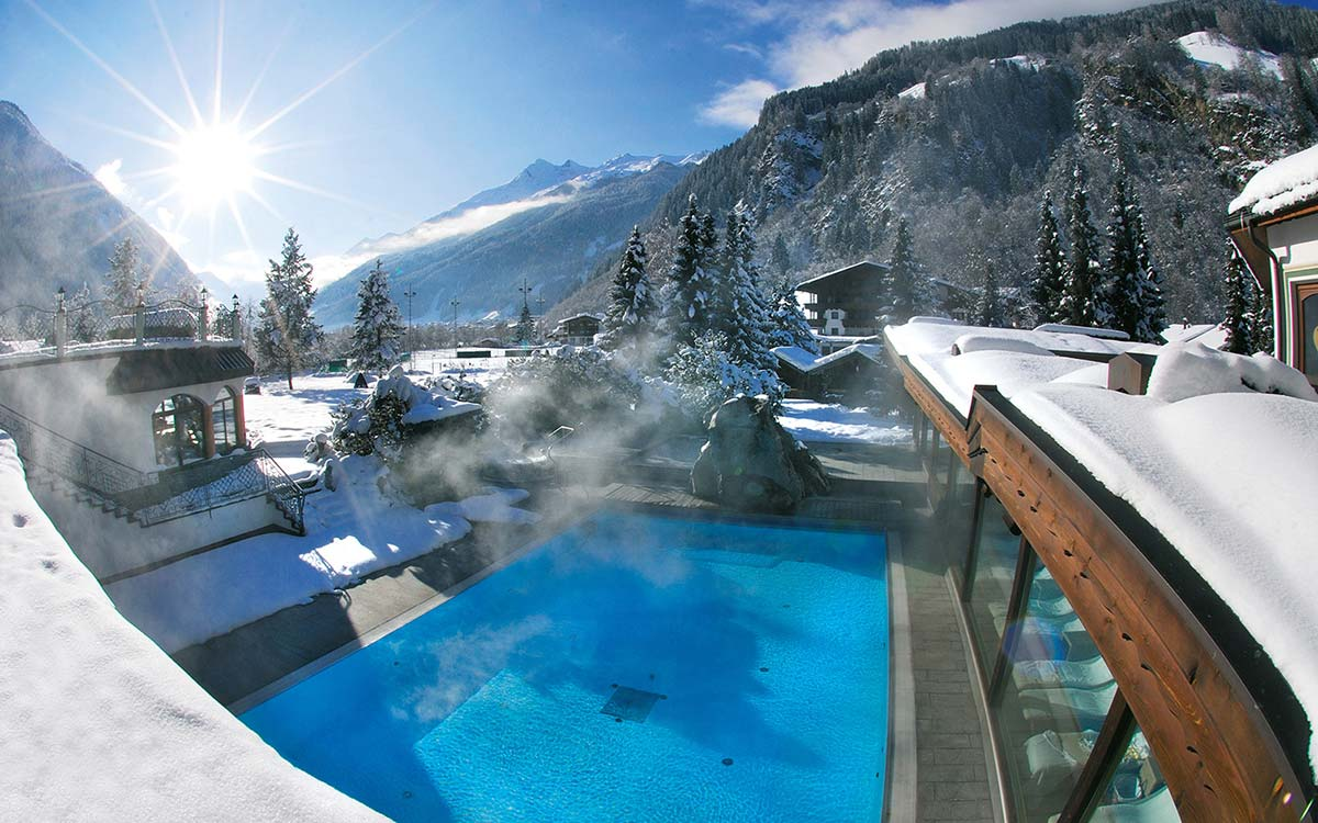Relais Chateaux Spa Hotel Jagdhof Neustift Tyro Austria wellness in the snow