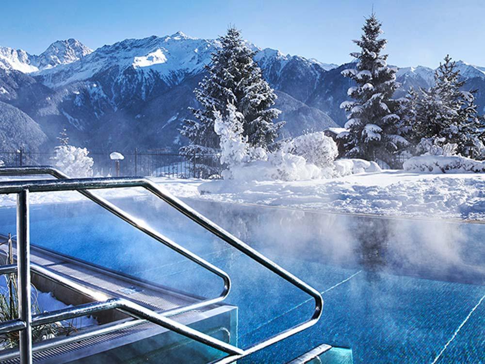 Schlosshotel Fiss AquaMonte water world